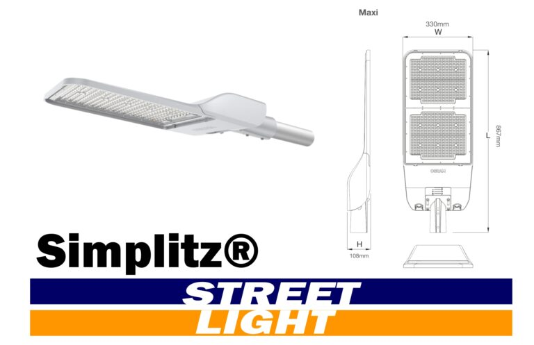 SIMPLITZ® Led STRET LIGHT HEADER