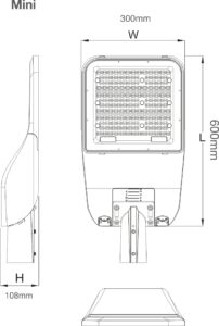 SIMPLITZ® Led STRET LIGHT MINI