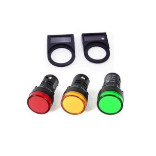 ACCESSORIES PILOT LAMP AND PUSH BUTTON LEGEND PLATE FOR 25MM FORT