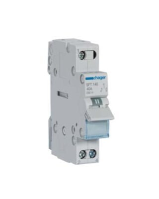 CHANGE OVER SWITCH 1 POLE 40A SFT-140 HAGER