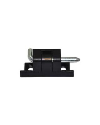HINGE PANEL BOX BLACK 30MM FORT