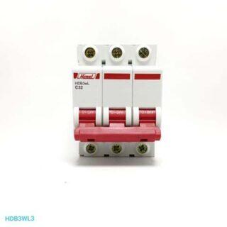MCB 3P 20A 4.5kA HDB3w HIMEL