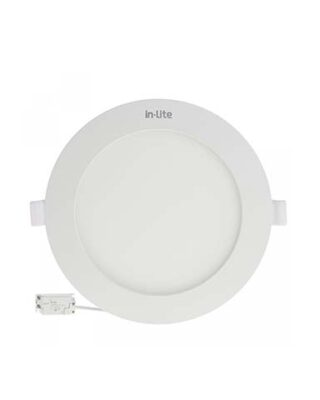 PANEL LIGHT IB ROUND 12W 4000K INPS626R IN-LITE
