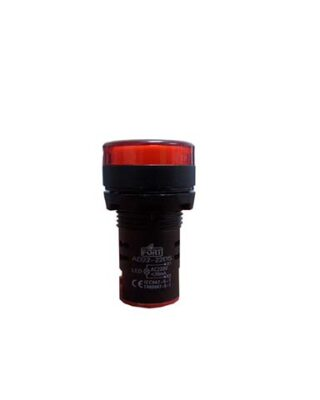 PILOT LAMP BUZZER 22MM 24VDC FORT