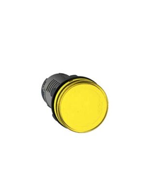 PILOT LAMP Ø22MM YELLOW 220VAC FORT