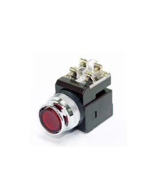 PUSH BUTTON CR-254 RED HANYOUNG