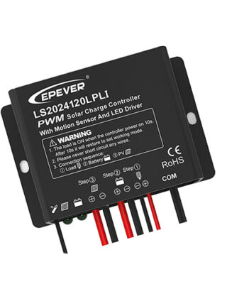 PWM SOLAR CHARGE CONTROLLER + DRIVER 12/24V 20A EPEVER