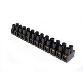 TERMINAL BLOCK / KRUSTIN 10MM 10A BLACK FORT