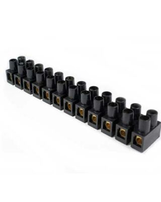 TERMINAL BLOCK / KRUSTIN 10MM 10A BLACK FORT