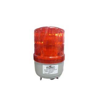 """WARNING LIGHT LED 4"""" ROTARY MULTIVOLTAGE RED DV"""